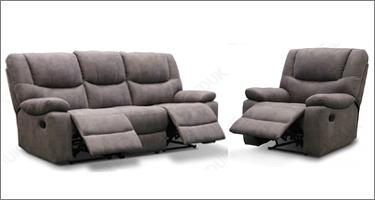 TCS Giana Fabric Recliner Sofas