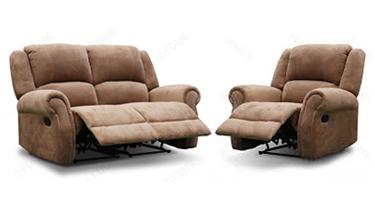 TCS Oscar Fabric Recliner Sofas