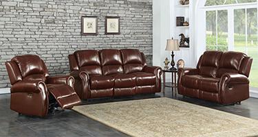TCS Oscar Leather Recliner Sofas