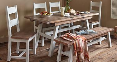 Besp Oak The Hamptons Dining Room