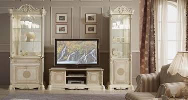 Tuttomobili Greta Beige Finish Living Room