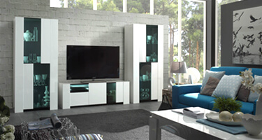Tuttomobili Miami White Living Room