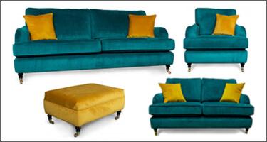 Ultra Furniture Astbury Fabric Sofas