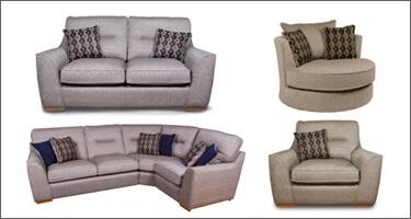 Ultra Furniture Avalon Fabric Sofas