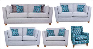 Ultra Furniture Craven Fabric Sofas