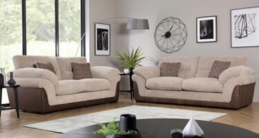 Ultra Furniture Sultan Fabric Sofas