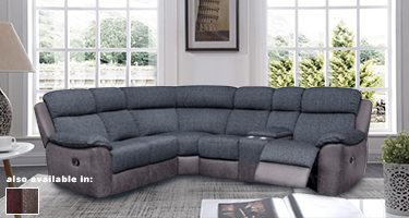 Urban Fabric Recliner Sofas