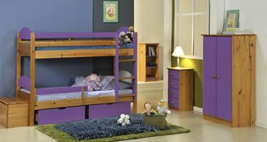 Verona Designs Maximus Antique with Lilac Details Bedroom