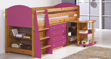 Verona Designs Mid Sleeper