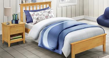 Vida Living Annecy Oak Bedroom