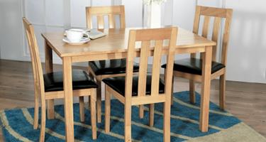 Vida Living Annecy Oak Dining Room