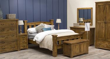Vida Living Ashbury Pine Bedroom