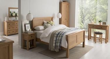 Vida Living Breeze Oak Bedroom