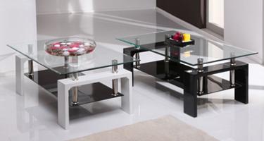 Vida Living Calico Glass Living Room