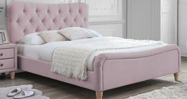 Vida Living Fabric Bed Frame