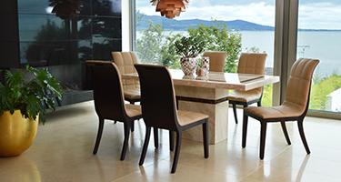 Vida Living Filippo Marble Dining Room