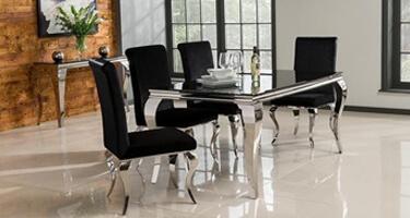 Vida Living Louis Glass Dining Room