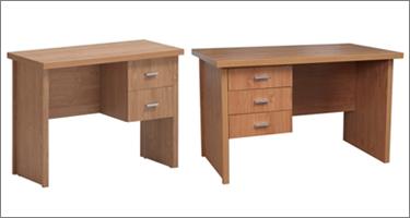Vida Living Oscar Oak Office Furniture