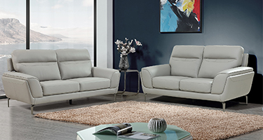 Vida Living Vitalia Light Grey Sofa