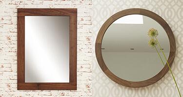 Walnut Mirror