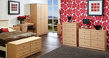 Welcome Furniture Oak Bedroom