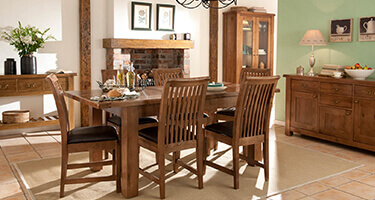 Willis & Gambier Bretagne Oak Dining Room