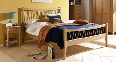 Willis & Gambier Grace Solid Oak Bedroom