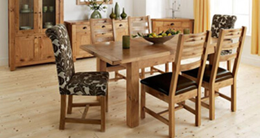 Willis & Gambier Normandy Oak Dining Room