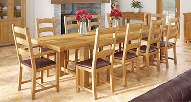 Wooden Extending Dining Sets