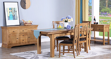 Zone Furniture Jersey Wooden Dining Room