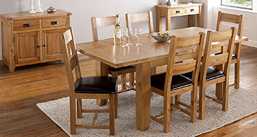 Zone Furniture Newark Wooden Dining Room