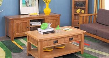 Zone Furniture Newark Wooden Living Room
