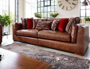 Charmant 4 Seater Sofas